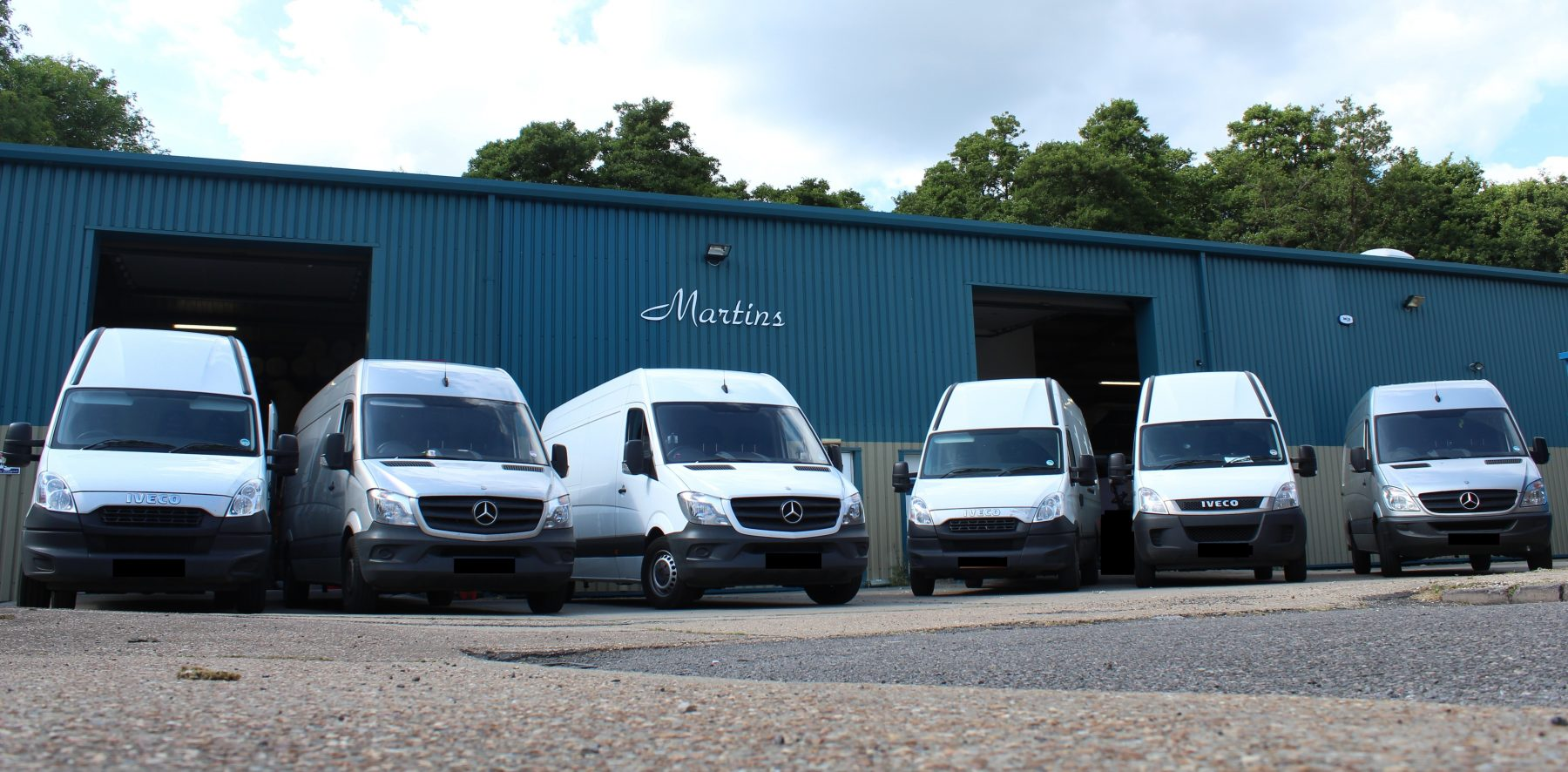 Our warehouse in Kent
